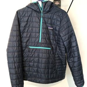 Patagonia Women's Hooded Nano Puff Pullover Jacket